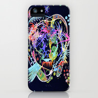 CORAL GALAXY III. & V. iPhone & iPod Case by Adka