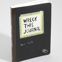 Wreck This Journal | Designed By Keri Smith | fredflare.com