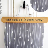Entangled (Bloem Grey) - heatherdutton - Spoonflower