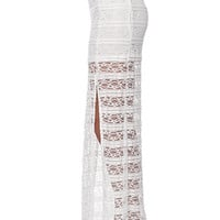 LA Hearts Crochet Maxi Skirt - Womens Skirt -