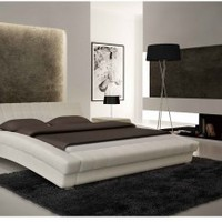 White 6160 Bed by ESF Furniture - Opulentitems.com
