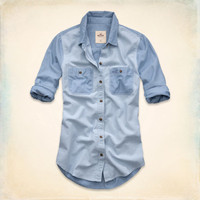 Abalone Cove Chambray Shirt