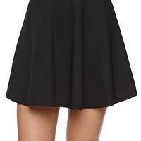 LA Hearts Textured Skater Skirt - Womens Skirt - White -