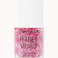 Magenta Feather Nail Polish