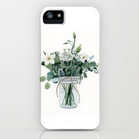 Forest Bouquet iPhone & iPod Case by Yuliya