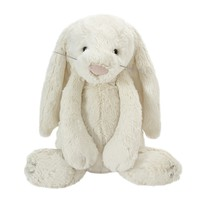 Large Cream Bashful Bunny Soft Toy - at LAURA ASHLEY