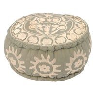 Suzani Pouffe Grey - 71.95 : le souk, unique living