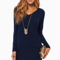 Ophelia Draped Tunic $36