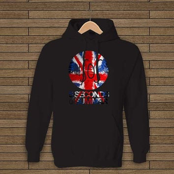 5 seconds of summer shirt five sos united kingdom flag style hoodie sweet hoodie