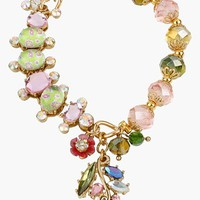 Betsey Johnson 'Spring Glam' Stretch Bracelet | Nordstrom
