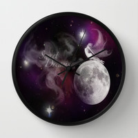 Sweet Dreams Fairy Wall Clock by DuckyB (Brandi)