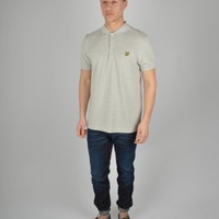 Lyle & Scott Plain Polo SPOO1V02 - Grey