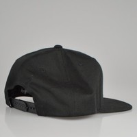Stussy Stock Hawaii Snapback Hat - Black