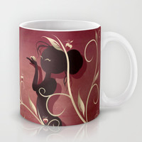 The Wings of Love Mug by LouJah