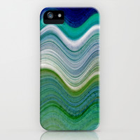 OCEANSCAPE ABSTRACT iPhone & iPod Case by Catspaws