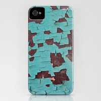 A Peeling Paint iPhone Case by Shy Photog | Society6