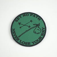Set No Path - Green/Black Patch from Explorer's Press