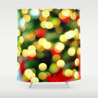 Oh Christmas Tree Shower Curtain by RichCaspian