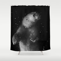 Polar Bear Dream Shower Curtain by RichCaspian
