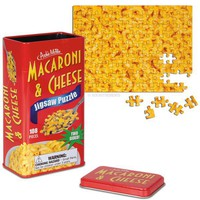 Two Sided Macaroni and Cheese Puzzle - For True Mac  Cheese Lovers!