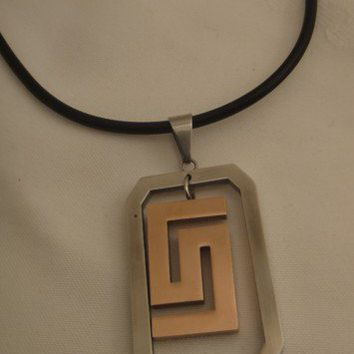 Mens Stainless Steel Necklace | asterling - Jewelry on ArtFire