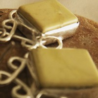 Amazing Yellow Jasper Earring | asterling - Jewelry on ArtFire
