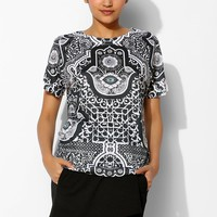 Jaded London Eye Crewneck Tee - Urban Outfitters