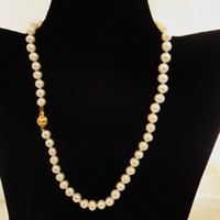 Wedding Pearl Necklace | asterling - Jewelry on ArtFire
