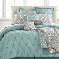 Jasmin Blue 10 Piece Comforter Sets