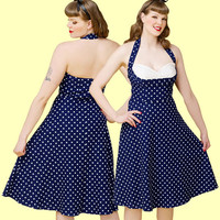 Stop Staring Covergirl Swing Dress (Sizes S-3XL)