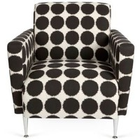 One Kings Lane - Vanillawood - Vintage Mod Polka Dot Chair