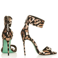 **RIO LEOPARD SANDALS BY CJG