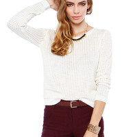Papaya Clothing Online :: CREAM METALIC ELEGANCE TOP