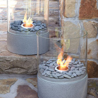 Small Outdoor Firepit - Horchow