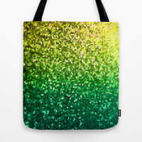 Mosaic Sparkley Texture G202 Tote Bag by MedusArt