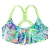 Xhilaration® Junior's Hanky Swim Top -Multicolor Print