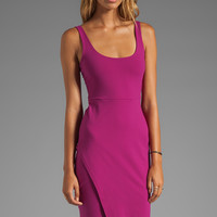 Susana Monaco Wrap Tank Dress in Bombshell Pink from REVOLVEclothing.com