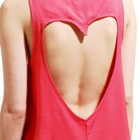 Sweetheart Back Tank by AKIRA