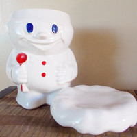 Vintage McCoy Bobby the Baker # 183 (Pillsbury Doughboy) Cookie Jar