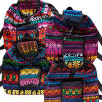 mexican backpacks