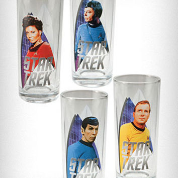 Star Trek Zombie Glasses Set | PLASTICLAND