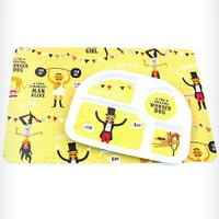 Silly Circus Food Tray &amp; Placemat Set | PLASTICLAND