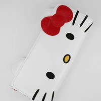 hello kitty face wallet $35.00 in WHTRED - Hello Kitty | GoJane.com