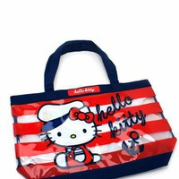 hello kitty sailor beach tote $32.20 in REDNAVY - Hello Kitty | GoJane.com