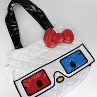 hello kitty 3d glasses face bag $67.60 in WHTRED - Hello Kitty | GoJane.com