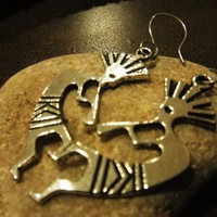 Looking Amazing With KoKopelli Earrings | asterling - Jewelry on ArtFire