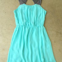 Portofino Mint Party Dress [2577] - $35.00 : Vintage Inspired Clothing & Affordable Summer Dresses, deloom | Modern. Vintage. Crafted.