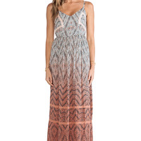 Gypsy 05 Cut Out Maxi Dress in Coral from REVOLVEclothing.com