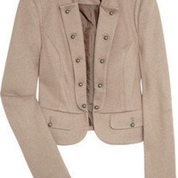 DAY Birger et Mikkelsen Lavier cropped wool-blend jacket - 40% Off Now at THE OUTNET