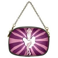 Mary Pin-Up Chain Purse (One Side)